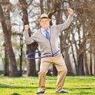 old man and hula hoop shrunk