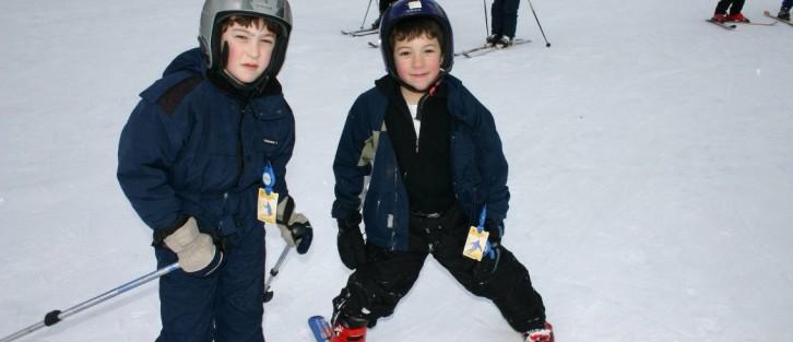 skiing with jacob