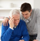 shutterstock_74106817 son consoling elderly father