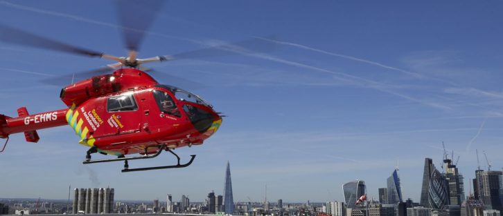 The London Air Ambulance is our chosen charity
