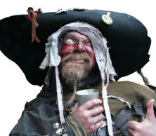 international pirate day - pirate injuries